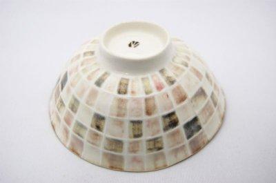 画像3: チェック飯茶碗(ピンク)