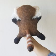 画像3: Red Panda レッサーパンダのパペット人形 (3)