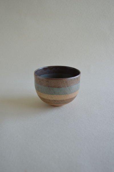 画像1: 抹茶碗・灰青色