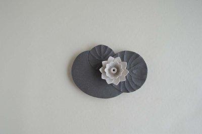 画像2: 香皿「睡蓮」