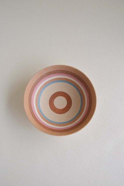 画像2: 縞中鉢・ブルー&ピンク