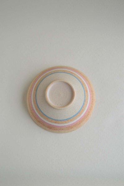 画像3: 縞中鉢・ブルー&ピンク