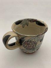 画像2: 花絵マグカップ (2)
