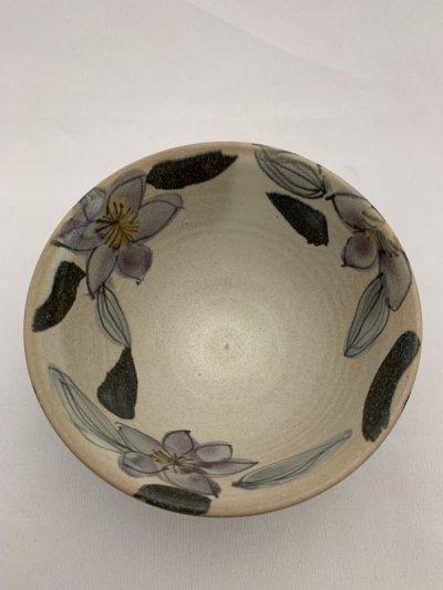 画像2: 花絵ご飯茶碗