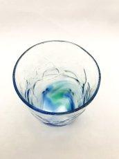画像5: 4つ足オールドグラス-ブルー (5)