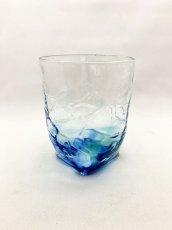 画像3: 4つ足オールドグラス-ブルー (3)
