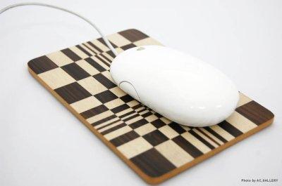 画像3: マウスパッド 変わり市松(白)