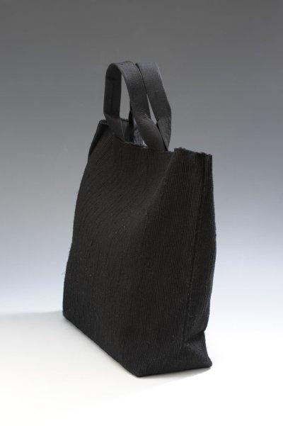 画像2: さき織バッグ [BLACK]
