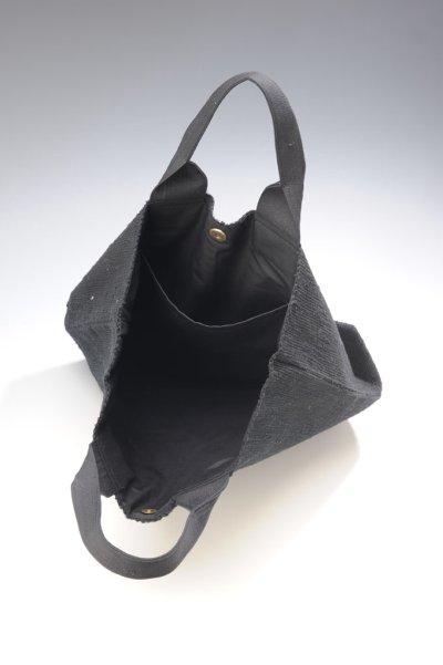 画像3: さき織バッグ [BLACK]