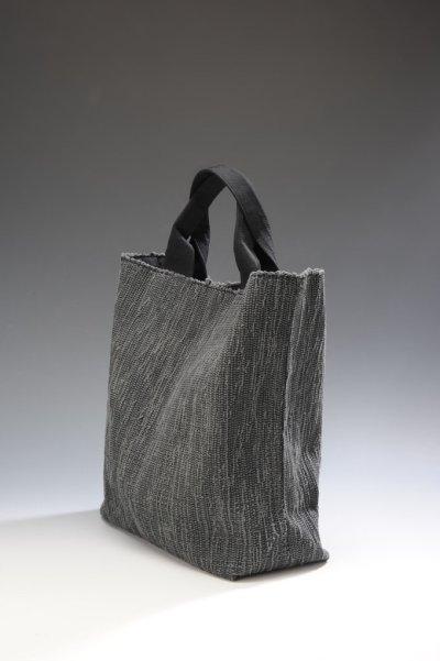 画像1: さき織バッグ [GRAY]