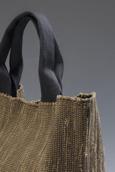 画像3: さき織バッグ [KHAKI]