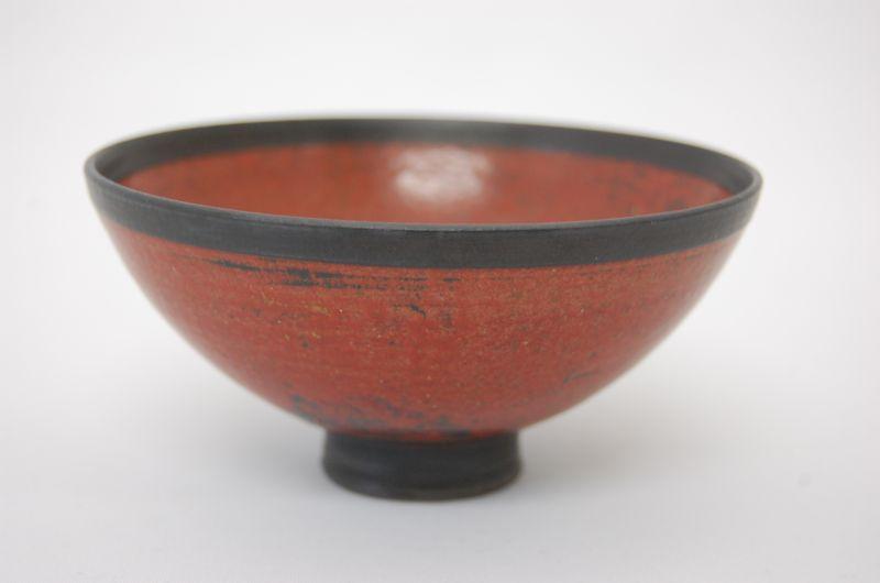 画像1: 渋赤飯碗 (1)