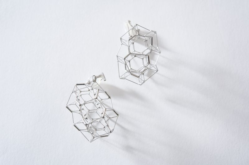 """画像1: Earrings """" φ"""" type-5 (1)"""