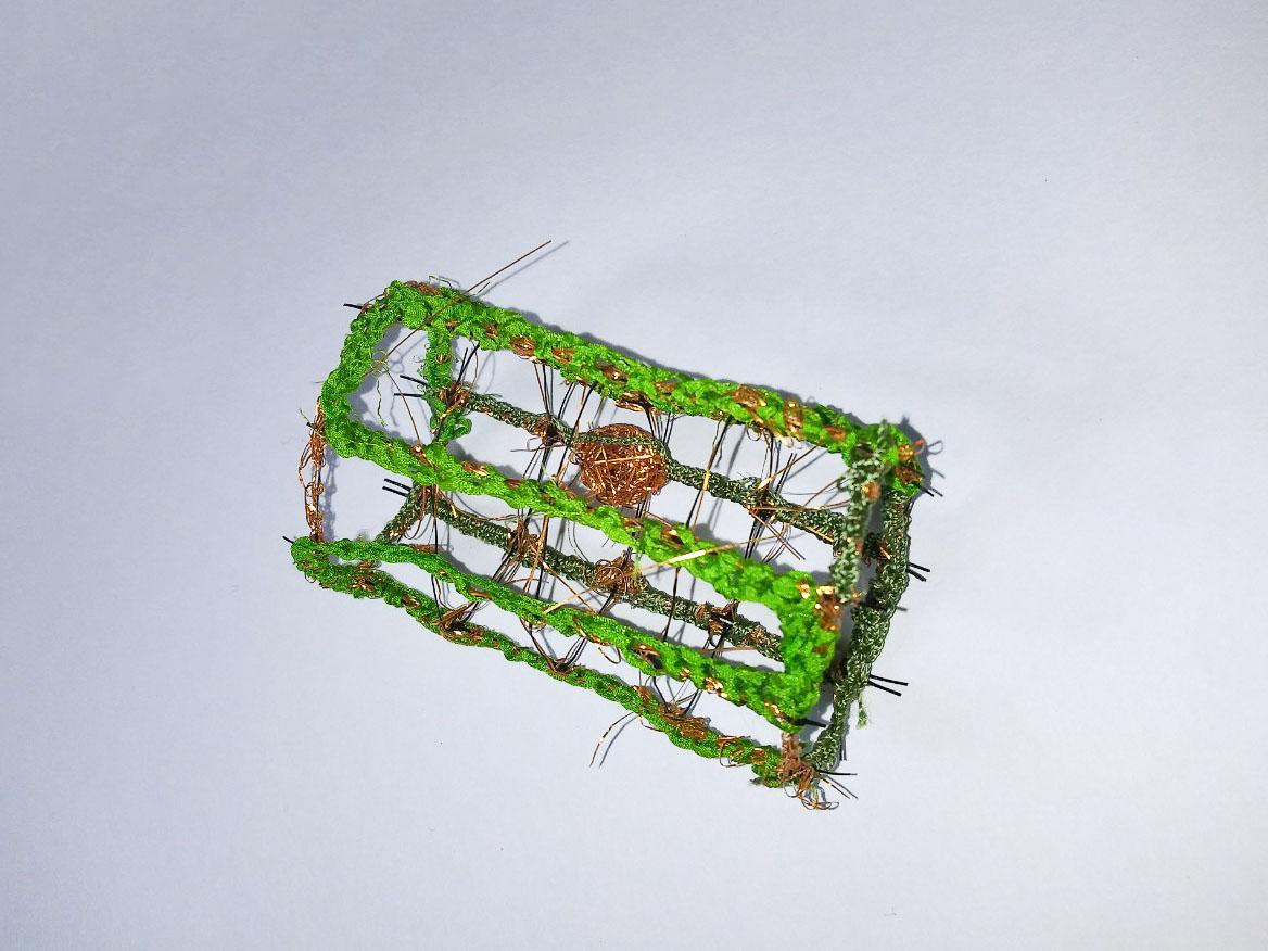 画像1: ネットピンブローチ (1)