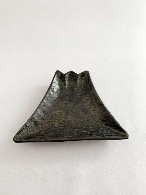 画像1: 豆皿 富士山 (1)
