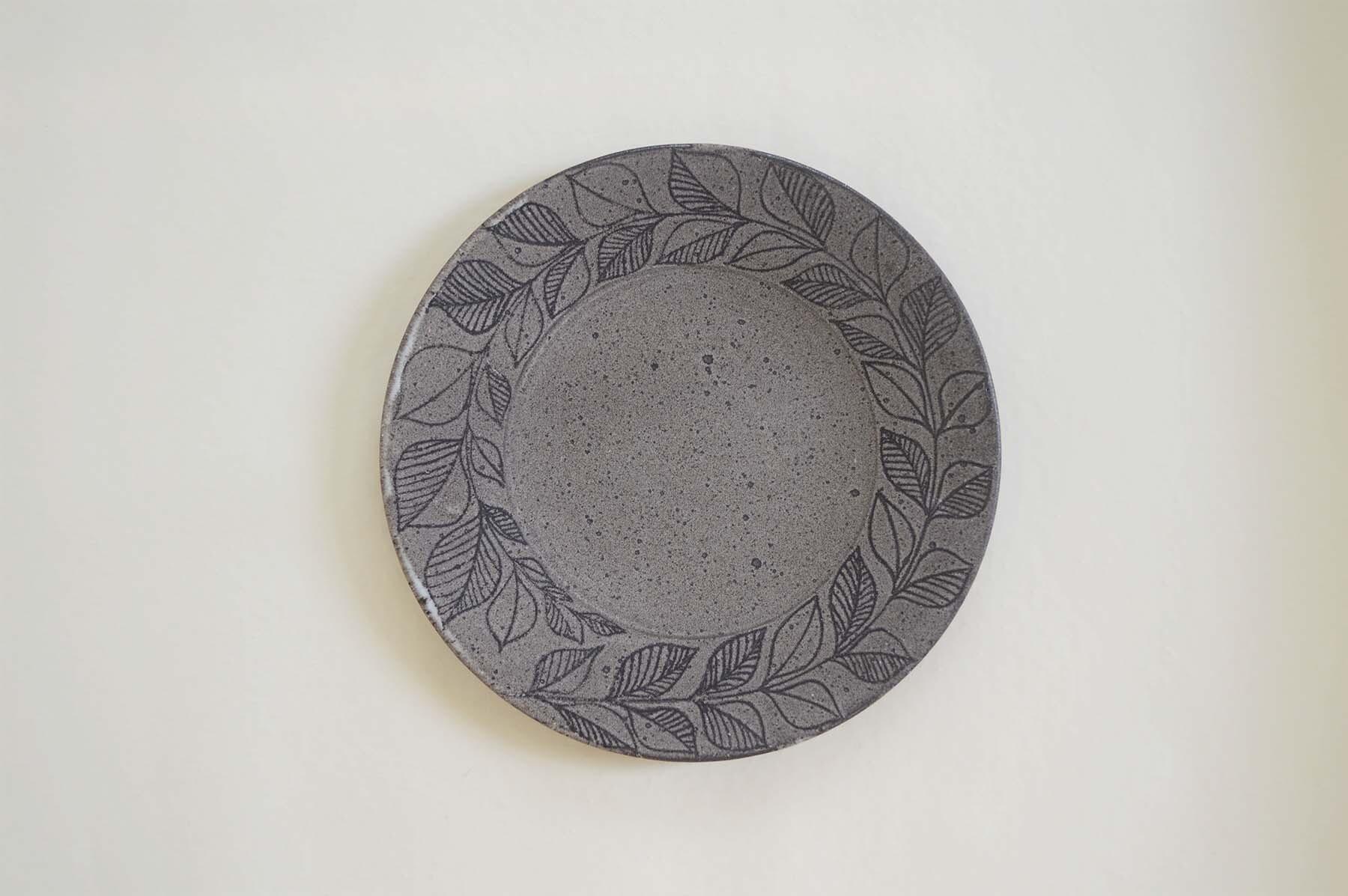画像1: リーフ平皿 (1)