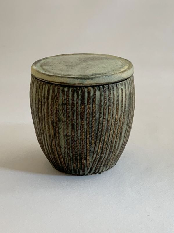 画像1: 茶器 ストライプ (1)