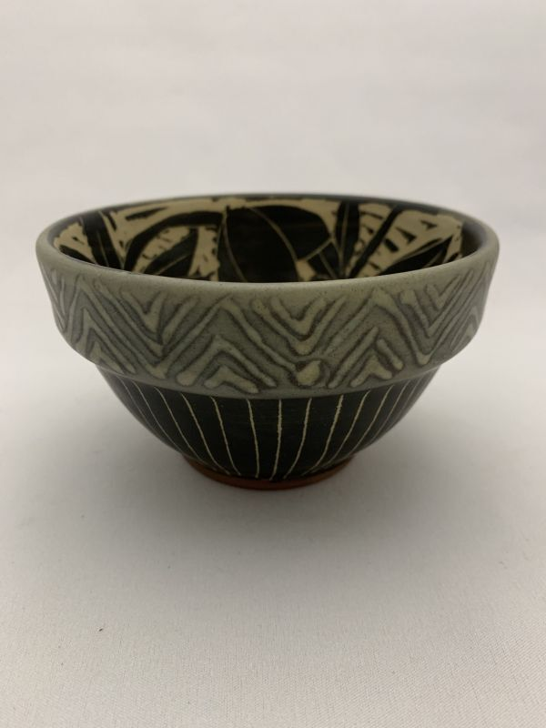 画像1: 掻き落とし小鉢 (1)