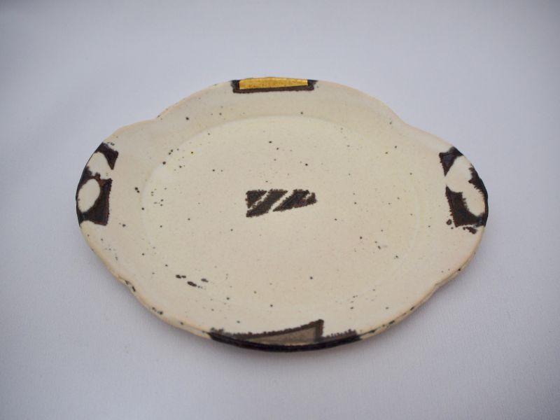 画像1: BW金銀彩雲型皿B (1)