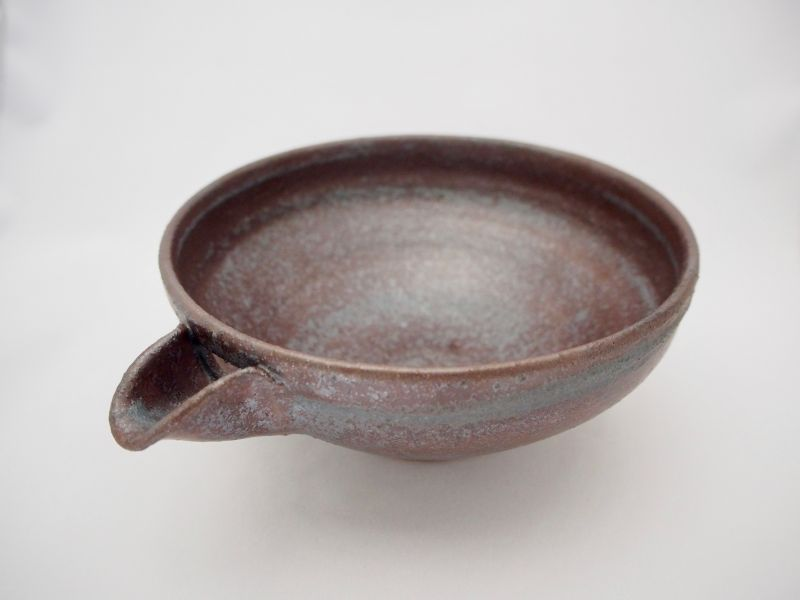 画像1: 光彩釉六寸片口鉢 (1)