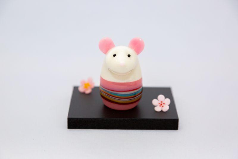 画像1: 華ねずみ(ピンク) (1)