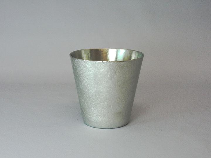 画像1: 銀錫ぐい呑 (1)